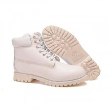 Timberland 6 Inch Boots White